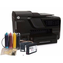Multifuncional Hp 8610 + Bulk Ink Instalad + 400 Ml Tin Cora