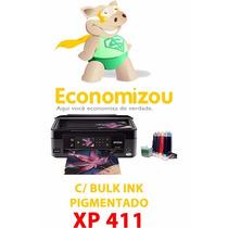 Epson Xp411 Bulk Pigmentado+4 Cartuchos+envio Rápido!