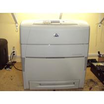 Impressora A3 Hp Color Laserjet 5550dn Funcionando Fotos Rea