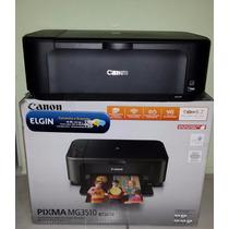 Impressora Multifuncional Sem Fio Canon Pixma Mg3510