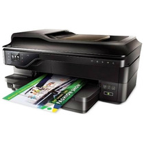 Impressora Multifuncional Hp 7612+a3 + Bulk Ink + 1 Lt Tinta