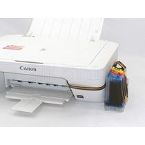 Impressora Multifuncional Canon Mg Com Bulk (defeito)