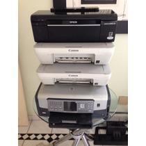 Lote Impressoras 2 Canon/epson/hp Multifuncionai
