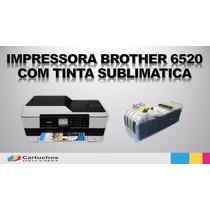 Multifuncional A3 Brother Mfc J6520 Dw C/ Tinta Sublimática
