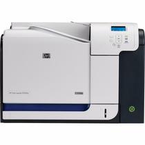Impressora Hp Color Laserjet Cp3525dn Incluso Toner
