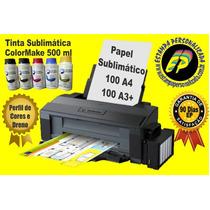 Impressora Epson L1300 A3 Bulk Ink Tinta Sublimática 500 Ml