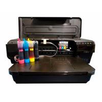 Impressora Hp 7110 A3 Adaptada P/ Imprimir Em Papel Arroz.
