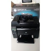 Multifuncional Laser Color Pro 100 M175a Hp C/6 Meses De Uso