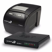 Kit Sat Fiscal Bematech - Transmissor + Impressora Mp-4200