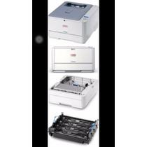 Impressora Laser Color . C330dn Oki Cx 1 Un + 4 Cartuchos