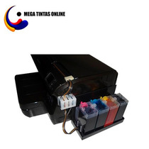 Impressora Hp Pro 8100 C/ Bulk Ink 250ml Tinta Pigmentada