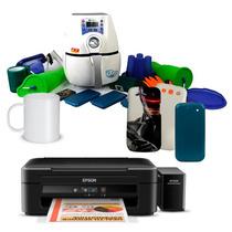 Ub 09 - Máquina Mini 3d + Impressora + Brindes Exclusivos