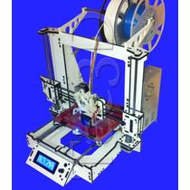 Impressora 3d Graber I3 - Tec3d/ Display, Niv. Aut, Montada!