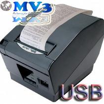 Impressora Térmica Cupom Não Fiscal Tsp700 Cabo Usb=bematech