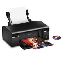 Impressora Epson T50 + Kit Bulk Ink + 600 Ml+25 Dvds
