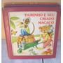 Livro Infantil Tigrinho E Seu Criado Macaco - Anos 90