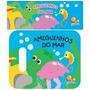 Livro Infantil De Banho Amiguinhos Do Mar