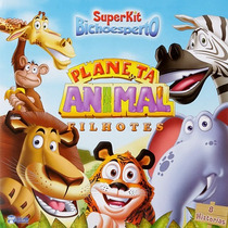 Super Kit Planeta Animal Acompanha Dvd