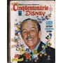 969 Lvr- Livro 1973- Cinquentenário Disney- Mickey- 50 Anos