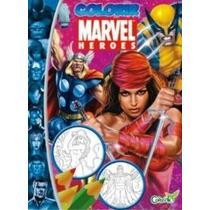 Coleção Marvel Heroes - Livro Para Colorir Elektra Cod508