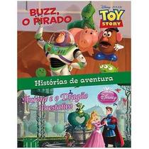 Livro Infantil Disney - 02 Histórias Em Um Livro- Ilustrado