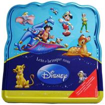 Livros Infantil - Lata Ler E Brincar Disney - 4babies