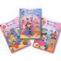 Brinque De Montão - 3 Livros Atividades Infantins Educativo