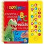 Livro Infantil Escute E Aprenda - Meu Primeiro Abc Em Inglês