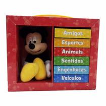 Livro Infantil Aprenda Com Mickey - Editora Melhoramentos