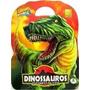 Maleta 8 Livros Infantil Dinossauros Jurassic Park+cd Brinde