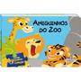 Livro Infantil Amiguinhos Do Zoo Em Quebra Cabeça