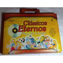 Coleção Maleta C Livros Infantis Clássicos Eternos Ler Ouvir