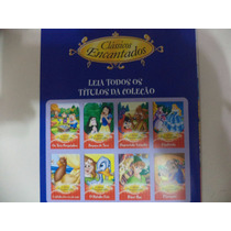 Coleção 8 Livros Clássicos Encantados , Cinderela E Outros .