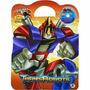 Maleta 8 Livros Infantil Transrobots Transformers +cd Brinde
