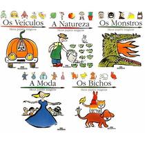 Livros Infantis Coleção Papéis Mágicos - 5 Vol - Capa Dura