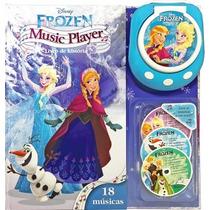 Frozen Music Player - Livro De História Com Cds