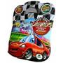 Maleta Infantil Carros 8 Livros Disney + Cd Brinde