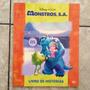 Livro Infantil Monstros S.a Disney Pixar Livro De Histórias
