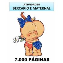 Atividades P/ Escolinhas - Berçario, Maternal E Ed. Infantil
