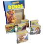 6 Mini Livros Cartonados Dinossauros Infantil Bebê B2822