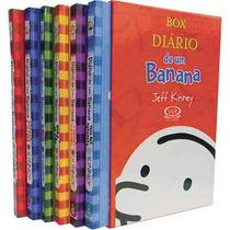 Box Diário De Um Banana - Jeff Kinney Frete R$ 10,00
