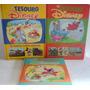 Lote 3 Livros Coleção Tesouros Disney - Vol 1 Ao 3