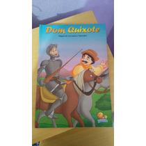Livro Infantil Dom Quixote + Livro Para Colorir