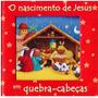 Livro O Nascimento De Jesus Em Quebra-cabeças.