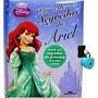 Disney Princesas - Livro De Segredos Da Ariel - Diário Novo!
