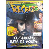 Revista Infantil: Recreio Nº376 Ano 08 24/05/07 Frete Grátis