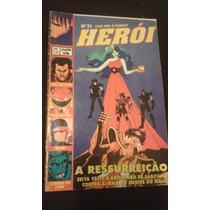 Revista Heroi 21 Sampa Power Rangers Nexus Lobo X-men Rara