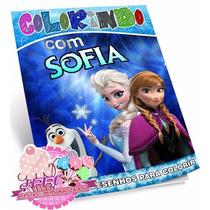 Kit Colorir Frozen - 30 Unid.