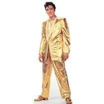 Elvis Presley Dourado Poster Gigante 30x91 Cm M. Pago*****