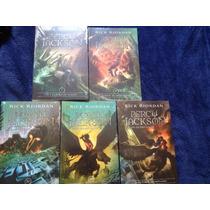 Coleção Percy Jackson- Lacrado - 5 Volumes - Rick Riordan